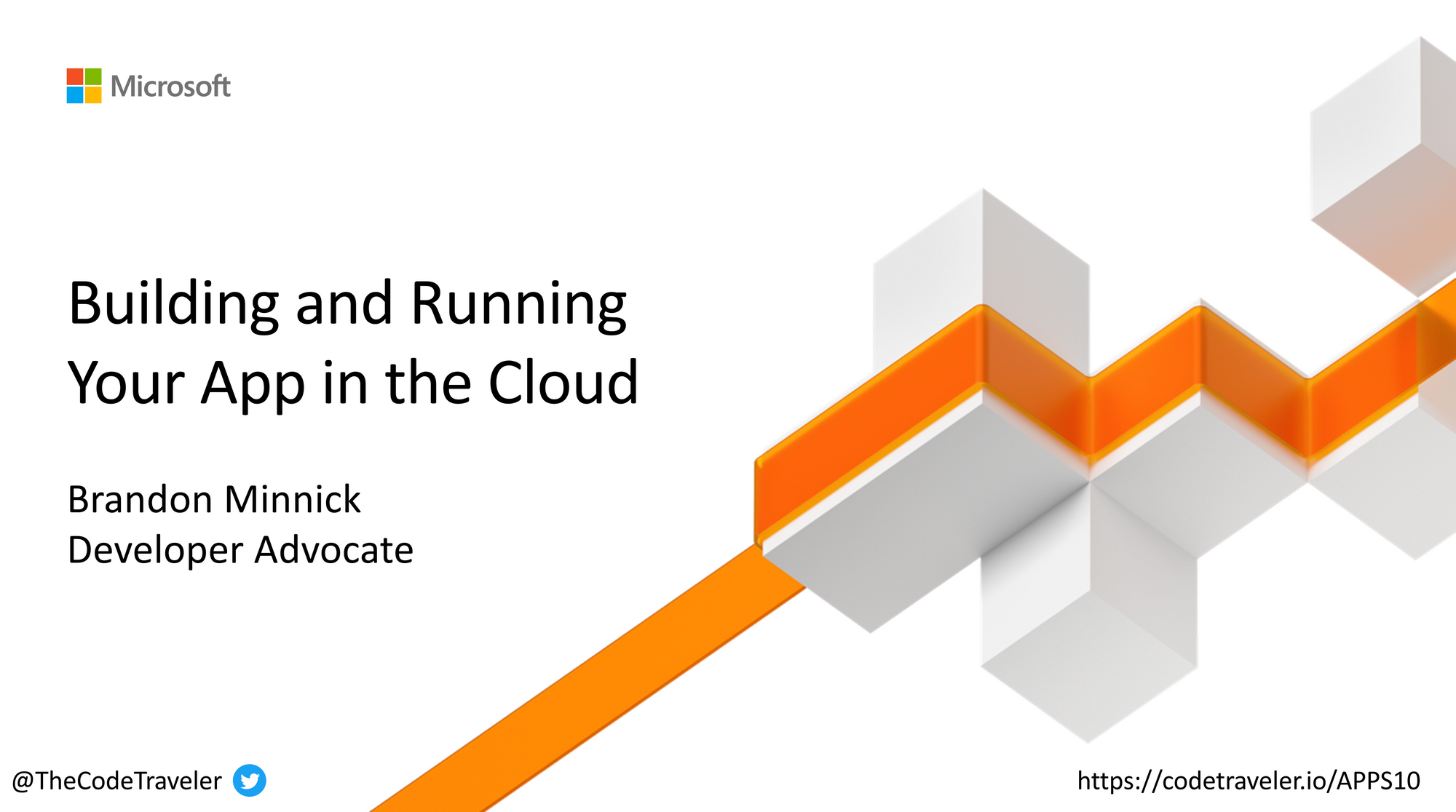 Building and Running Your App in the Cloud